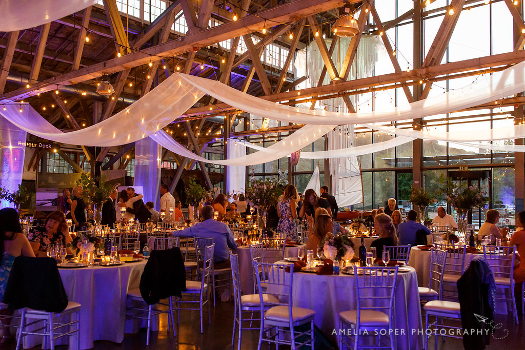 Foss Waterway Seaport Wedding, Tacoma by Jen's Blossoms
