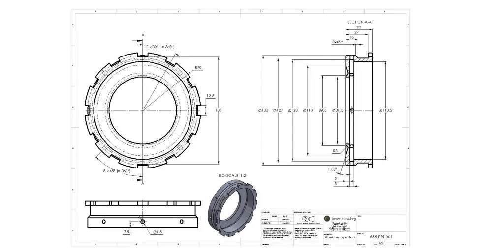 Technical Drawings for Veteran, Vintage and Classic Cars