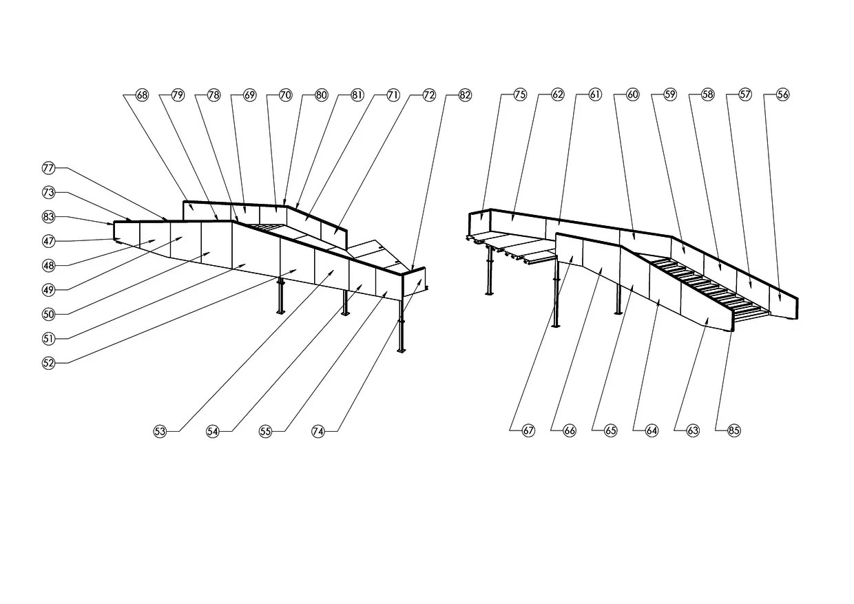 Fabrication Drawings For An Over Bridge