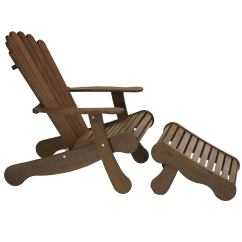 Ipe Adirondack Chairs Graco High Chair Replacement Tray Footrest Jensen Leisure Furniture