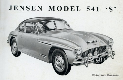 small resolution of jensen 541 s wiring diagram the jensen museum wiring diagram jensen 541s