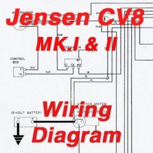 jensen wiring diagram 2003 chevy suburban diagrams cv8 mk i ii the museum