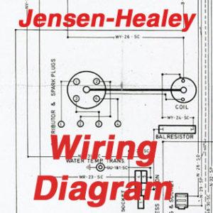 jensen wiring diagram samsung steam dryer healey the museum