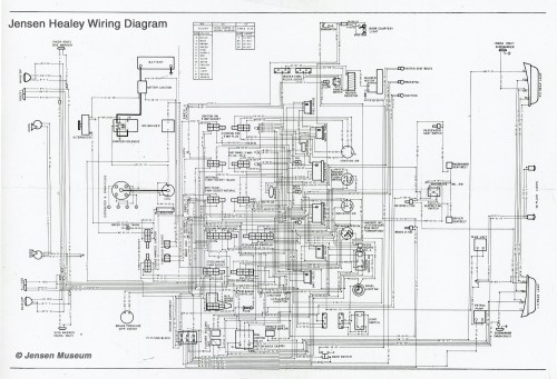 small resolution of jensen healey wiring diagram the jensen museumjensen healey wiring diagram full size is 2000 1365