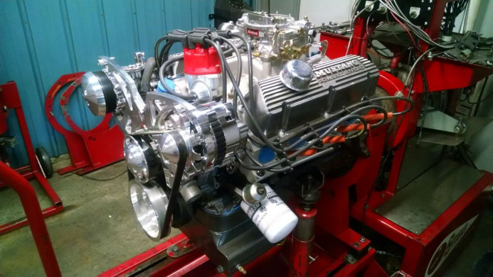 medium resolution of 425 hp 331 for an early mustang build