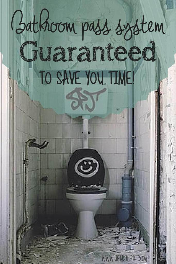 bathroom pass system to save time