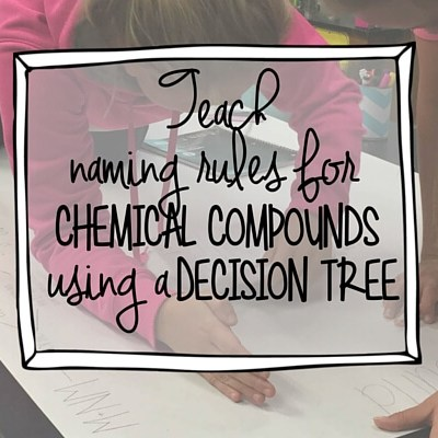 """Teach """"naming compounds"""" with a decision tree"""