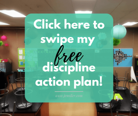 discipline action plan