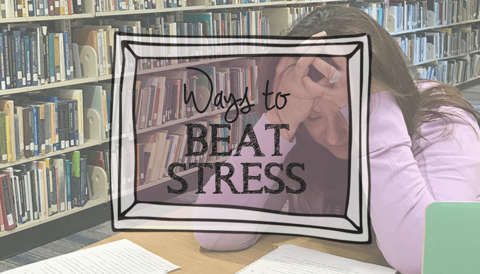 Beat stress during the school day