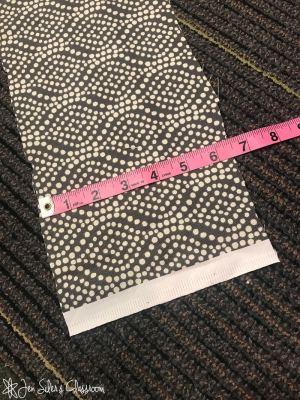 width of skirt strips