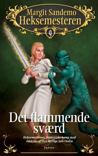 Heksemesteren 09 - Det flammende sværd omslagsbillede