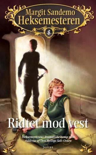 Heksemesteren 08 - Ridtet mod vest - CD omslagsbillede