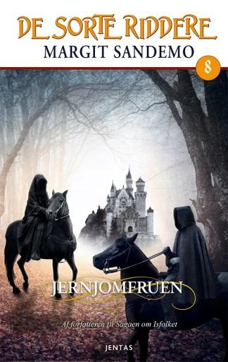 De sorte riddere 8 - Jernjomfruen omslagsbillede