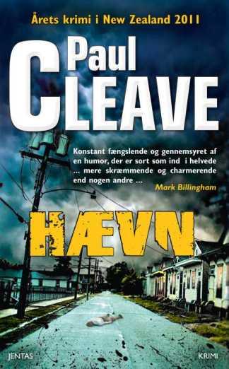 Hævn af Paul Cleave - CD omslagsbillede
