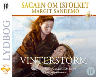 Isfolket 10 - Vinterstorm - CD omslagsbillede