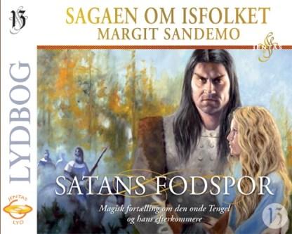Isfolket 13 - Satans fodspor - CD omslagsbillede
