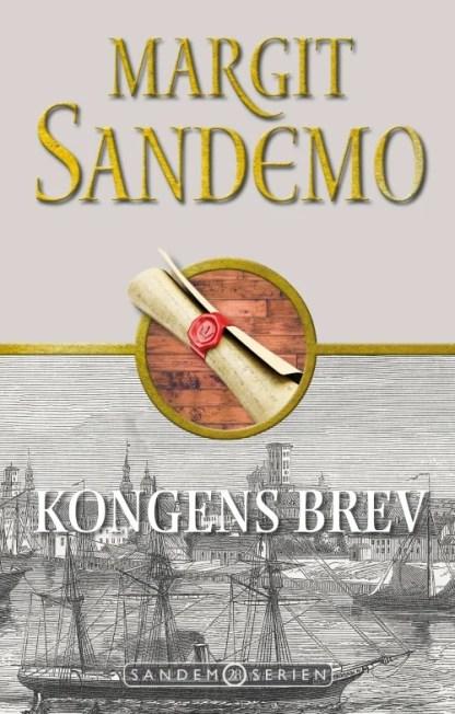 Sandemoserien 28 - Kongens brev omslagsbillede
