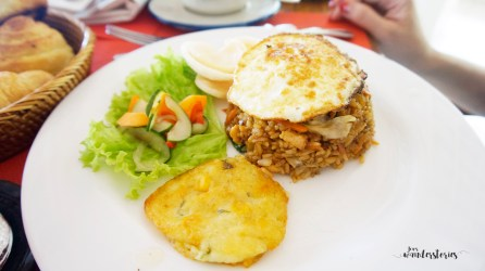 Indonesian set main dish