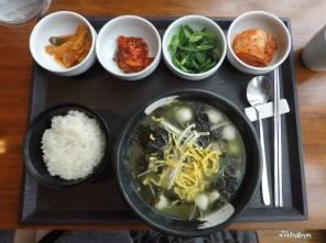 Miyukguk (seaweed soup) set - 9,000 KRW