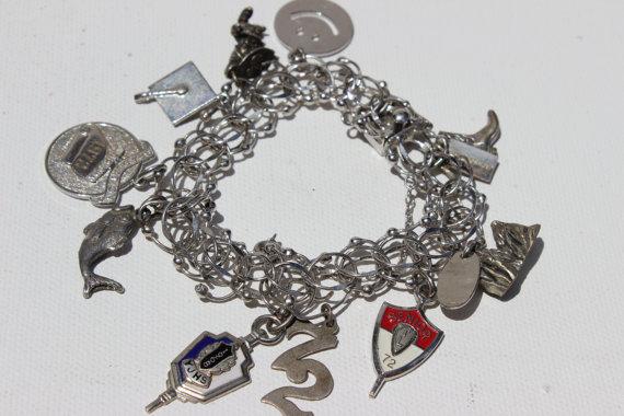 1970s charm bracelet