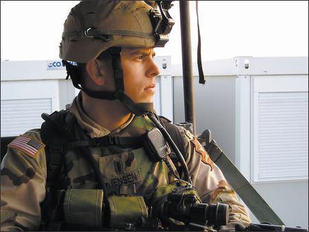Soldier in Iraq Drew Jensen, Captain