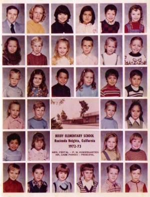 Kindergarten class picture