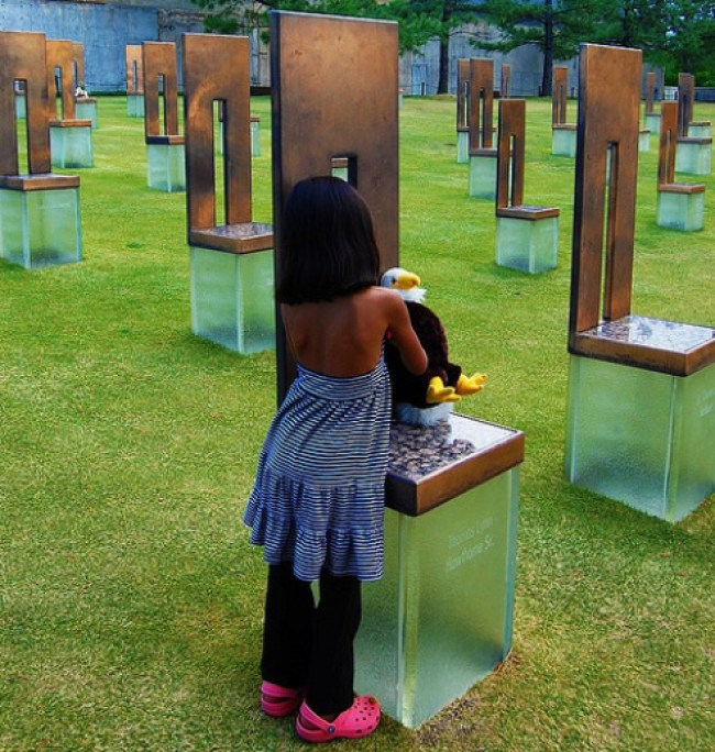 Oklahoma City Bombing Memorial Child Stuffed ANimal