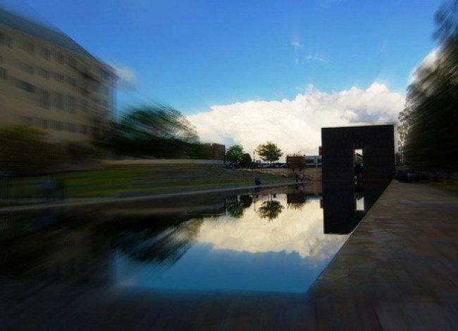 Oklahoma City Bombing Memorial Pool
