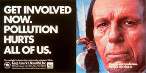 Crying Indian Ad from the 1970s