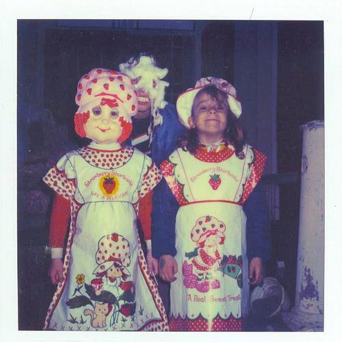Strawberry Shortcake Classic Child Halloween Girls Costume