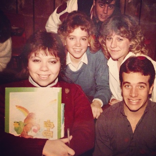 Preppy High School Students 1985
