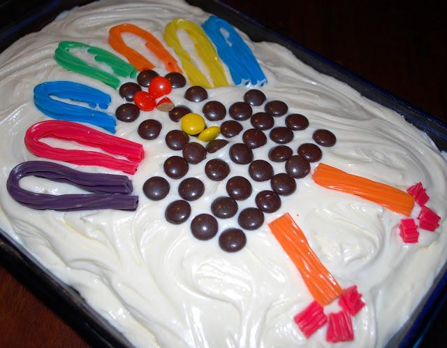 Turkey Twizzler Cake