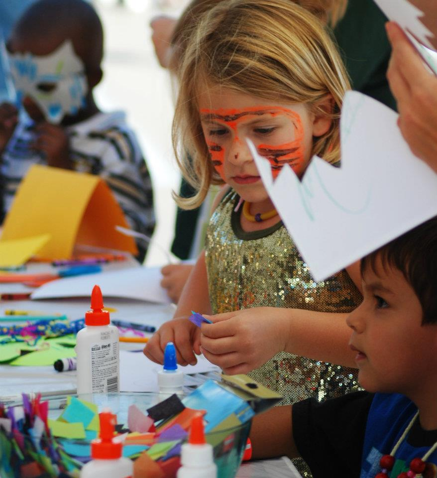 Plaza District Festival Arts and Crafts for Children