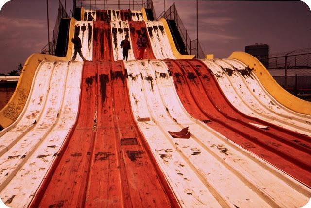 Big Slide at an amusement park