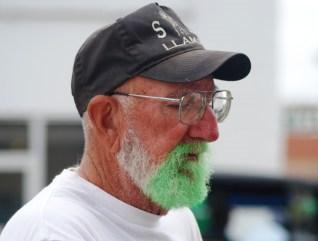 Green Beard St. Patrick's Day