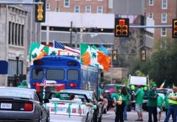 Parade Irish Flags