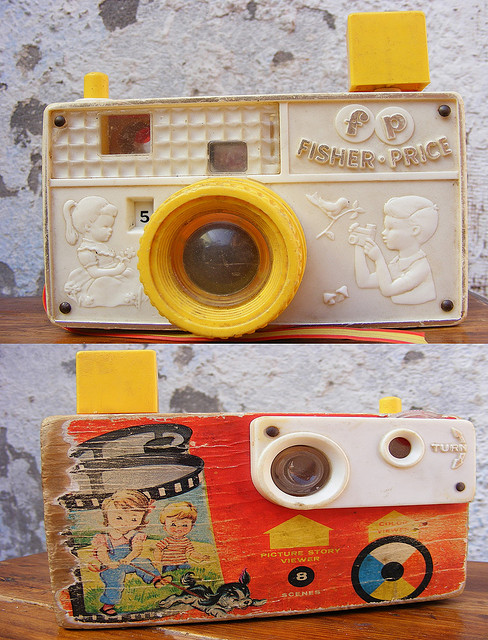 Picture story camera Fisher price 1967