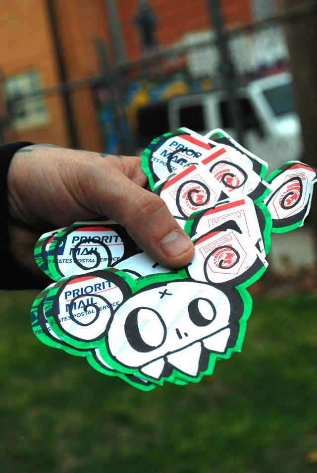 Graffiti Stickers, USPS