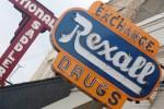 Old Rexall Drugs Sign, Stockyards City, OKC
