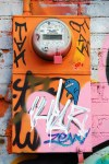 OGE Utility Box Graffiti