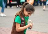 Brownies at a Parade