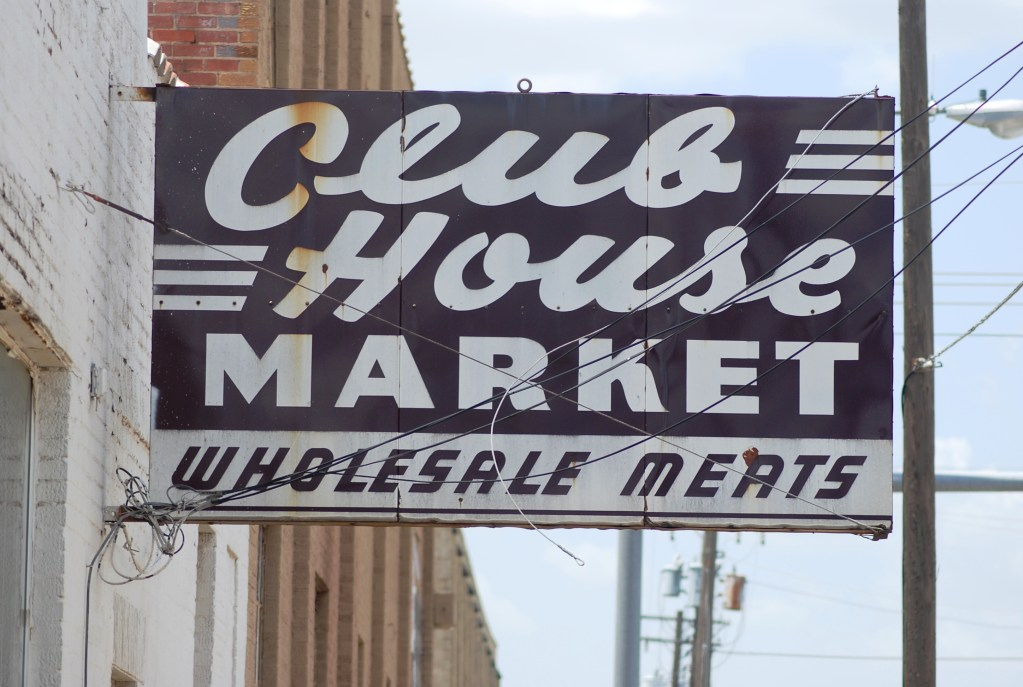 Club House Market, Retro Sign, OKC