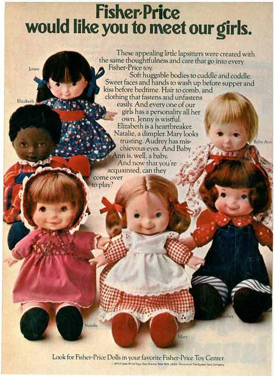 Fisher Price Jenny Doll