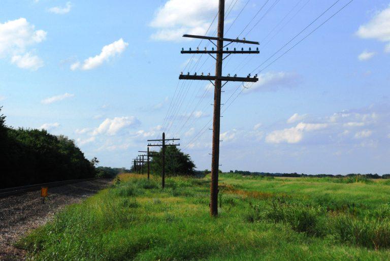 s Insulators on Telephone Pole