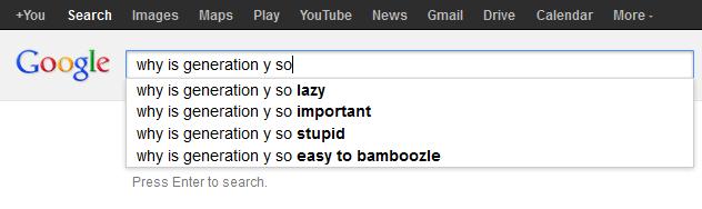 why is generation y so