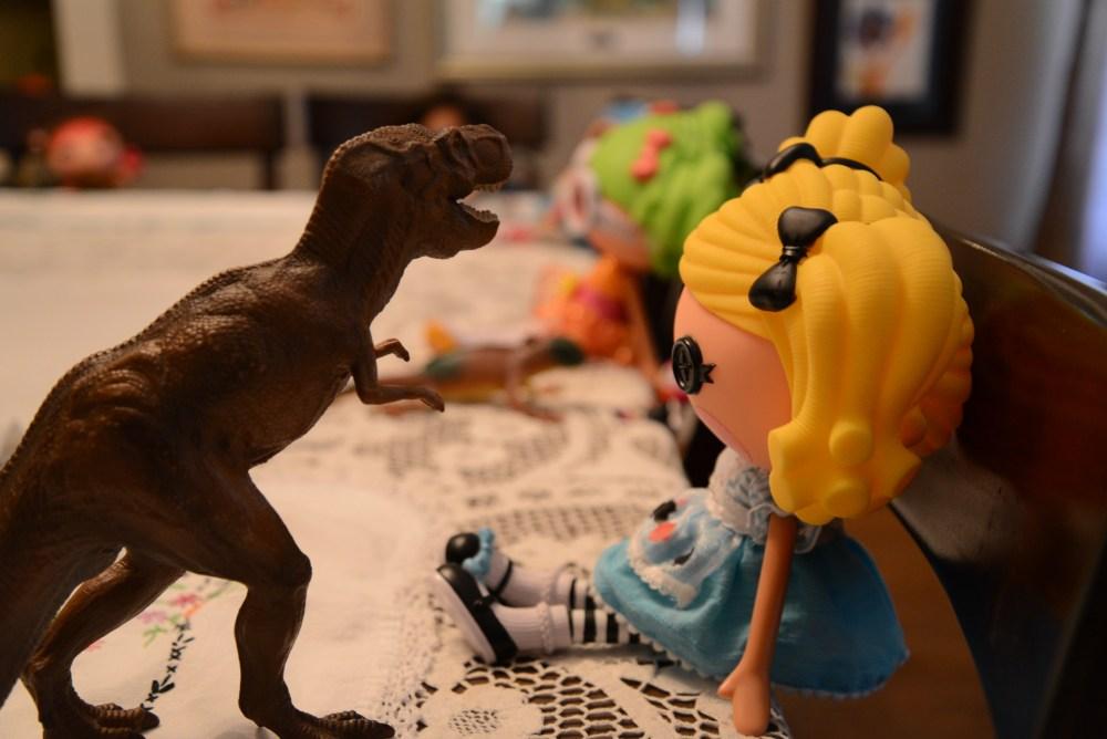 Lalaloopsy T Rex Dinosaur Tea Party