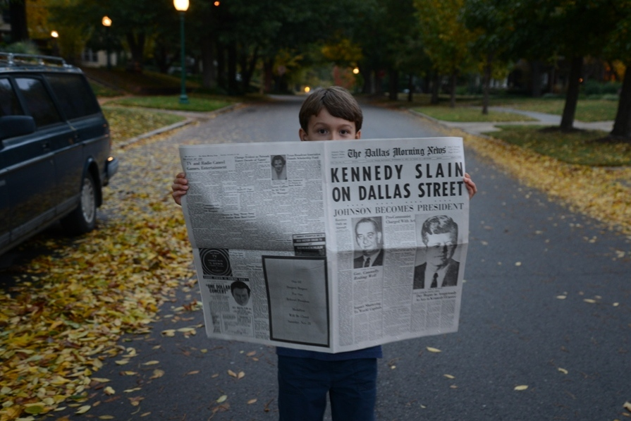 Dallas Morning News Kennedy Commemorative Edition