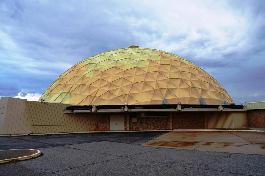 Gold Dome Bank Oklahoma City Geodesic