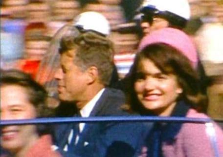 JFK Jackie in Car Dallas
