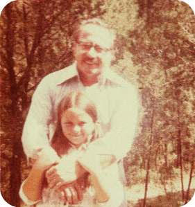 Dad and Me around 1979
